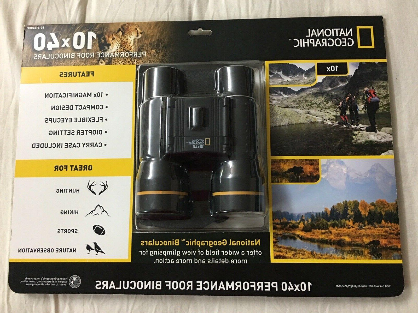10x40 performance roof binoculars