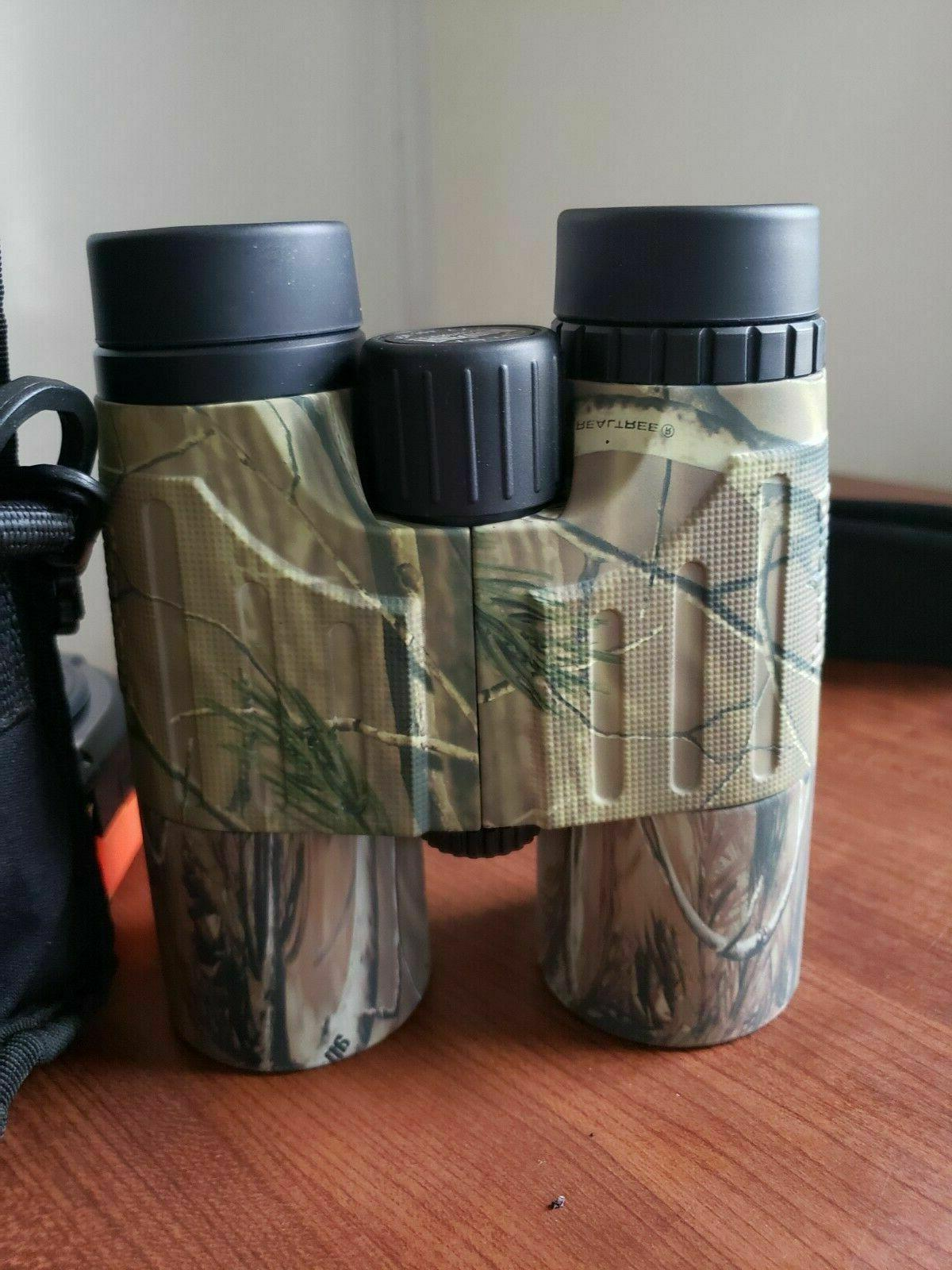 Bushnell 10X42 Camo Waterproof FOV with Case