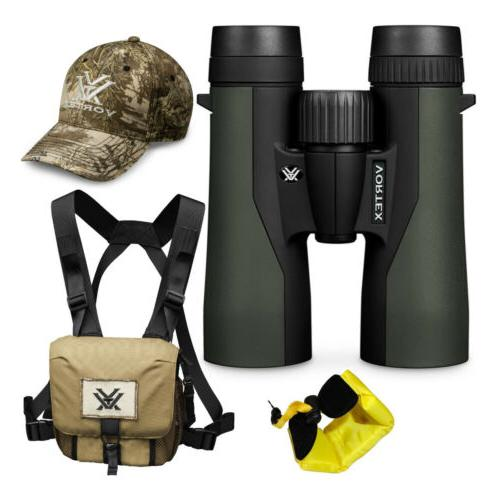 Vortex 10x42 Crossfire HD Roof Prism Binoculars w/ Floating