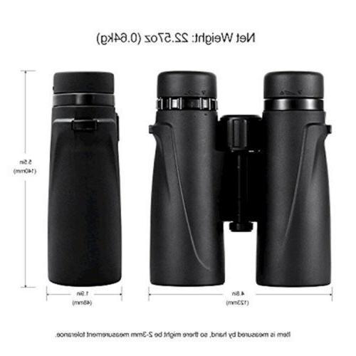 Eyeskey 10X42 Hunting Binoculars for Adults Lightweight and EK85611042