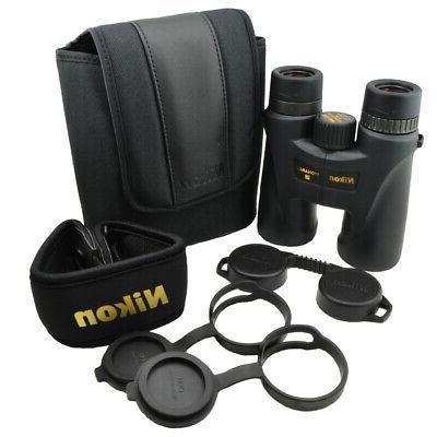 Nikon 10x42 Premium ED Glass Central Focus Binoculars Black