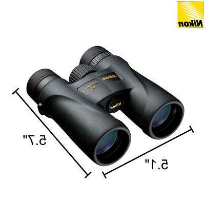 Nikon 7577 Monarch 10x42 Glass Central Focus Black