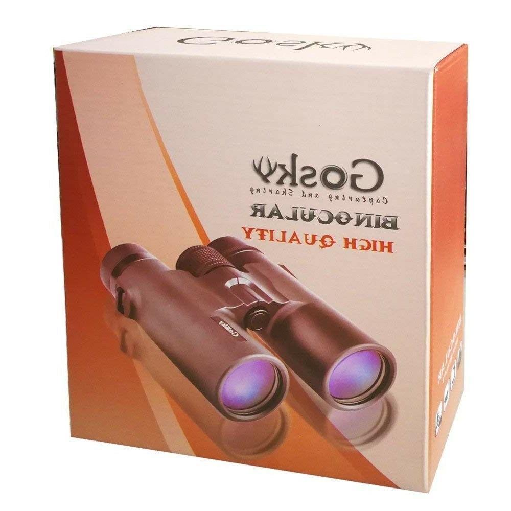 Gosky 10x42 Professional FMC Lens-w/ Strap