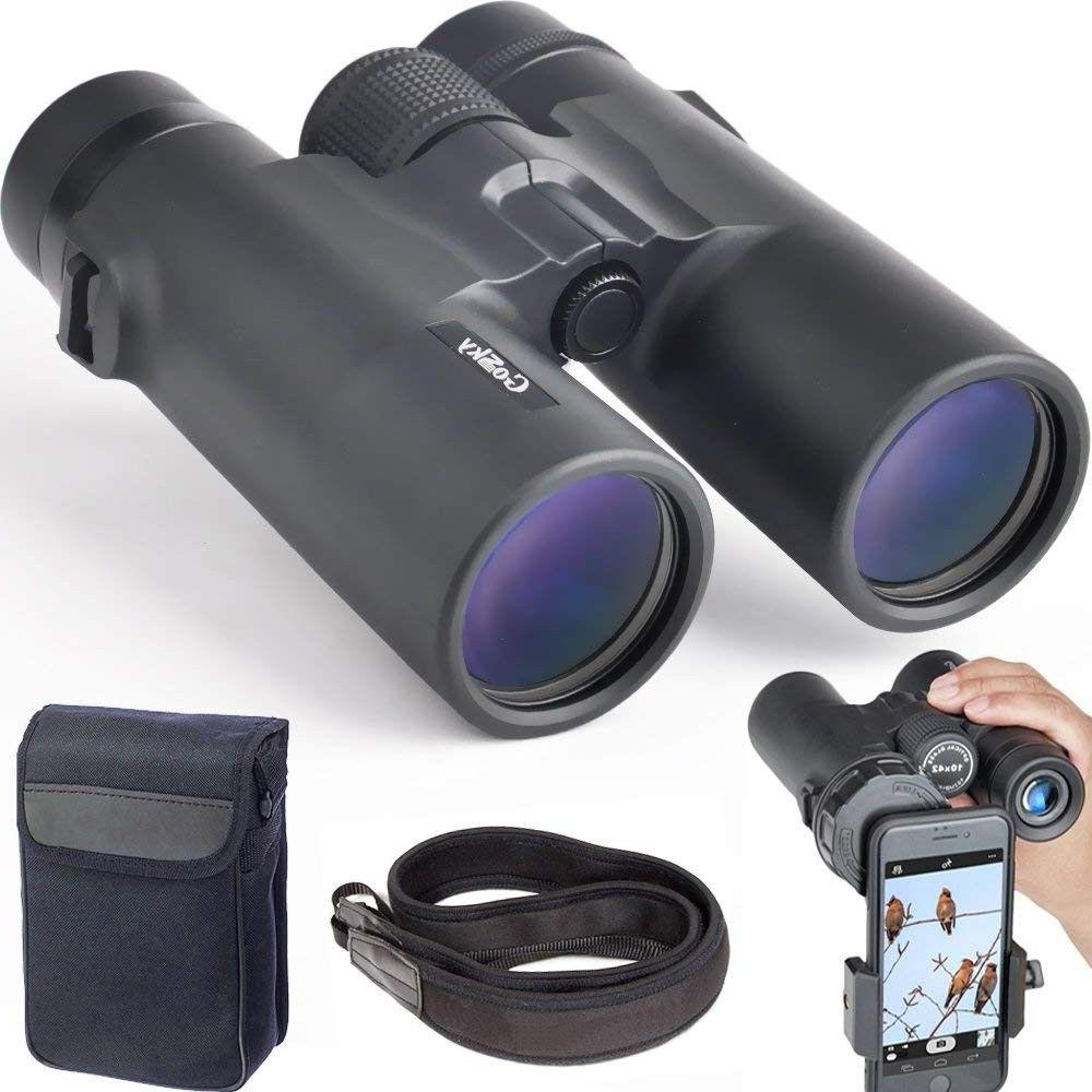 10x42 professional binoculars fmc lens w phone