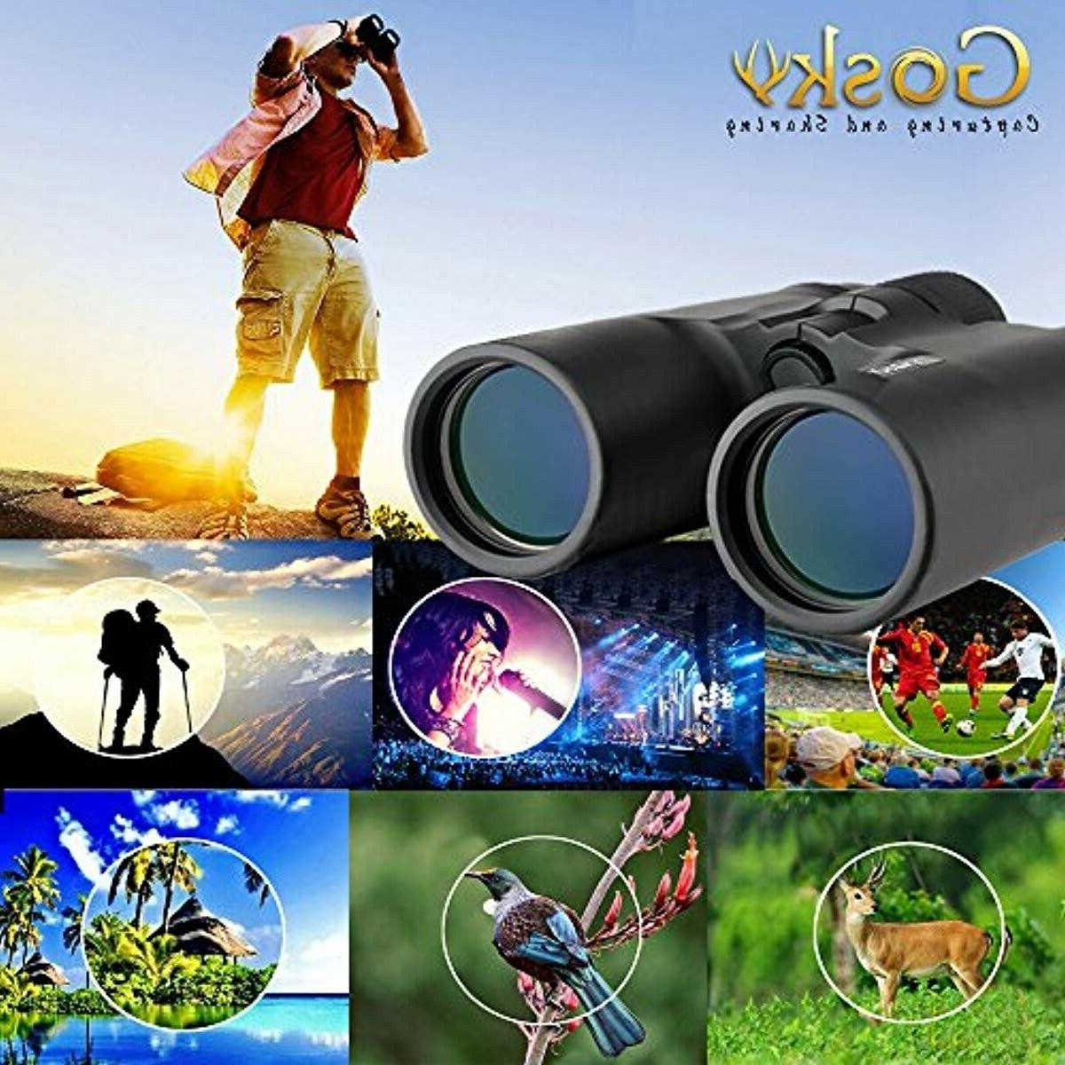 Gosky 10x42 Binoculars Professional