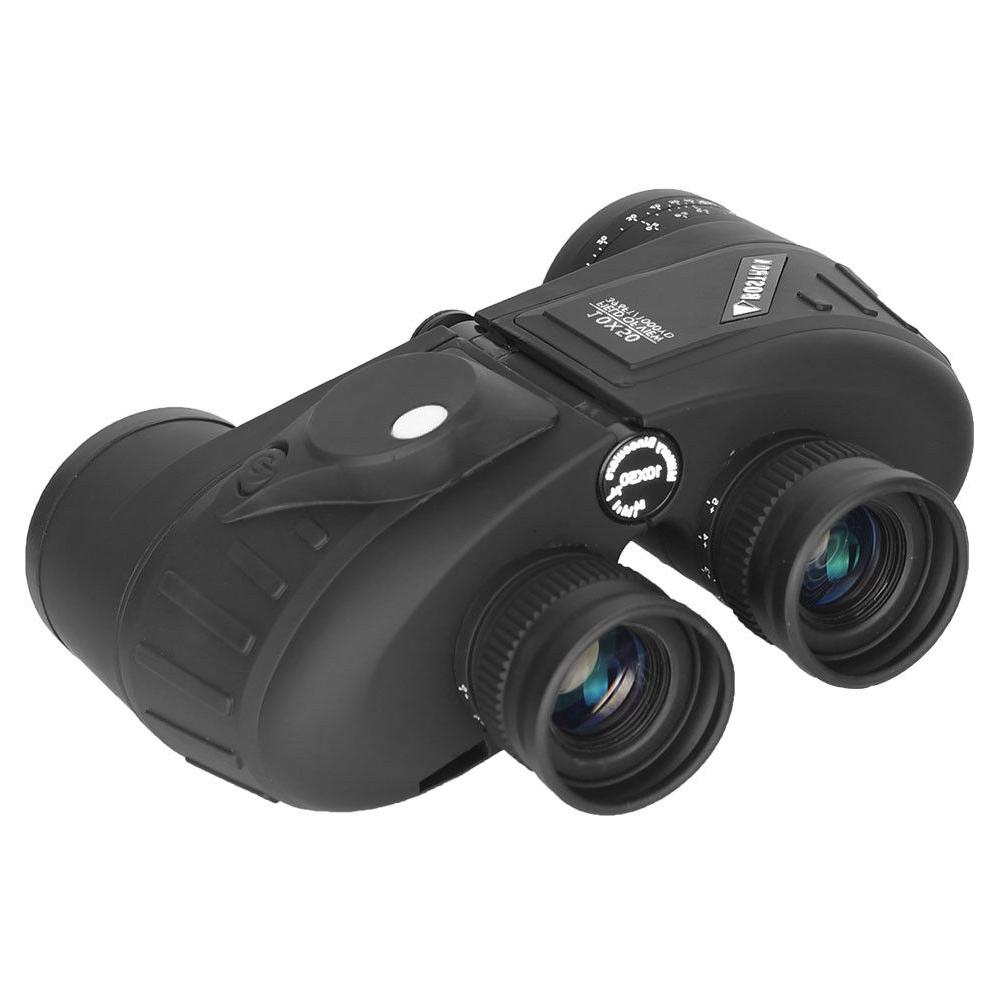 10X50 Binoculars BAK4 Rangefinder Compass