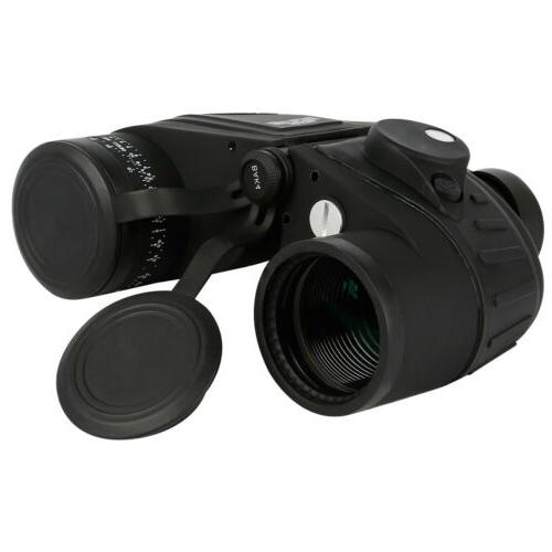 10x50 binoculars with night vision rangefinder compass