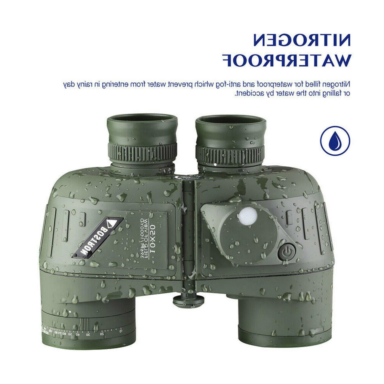 10X50 Glimmer Night Vision Compass BAK4