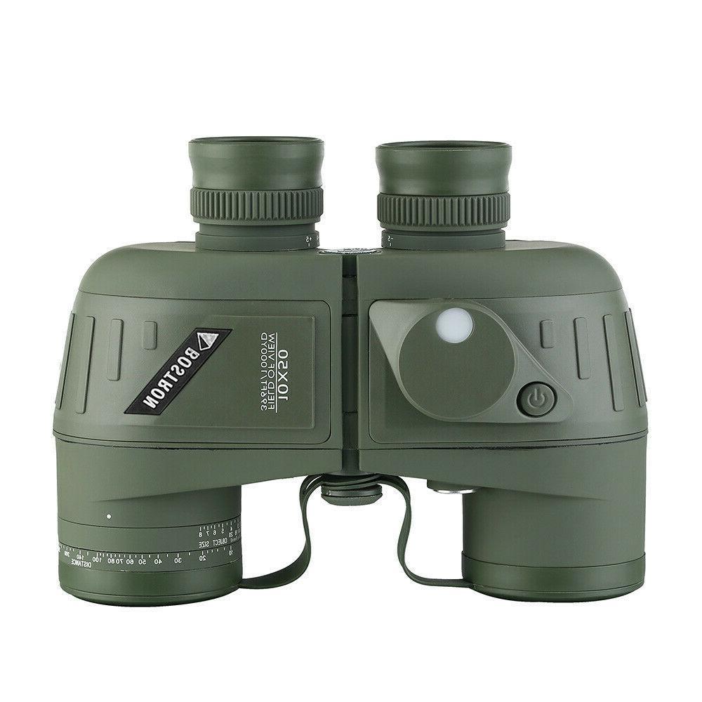 10x50 binoculars waterproof glimmer night vision rangefinder