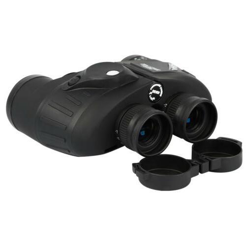 10X50 Binoculars Glimmer Vision Compass BAK4 Prism