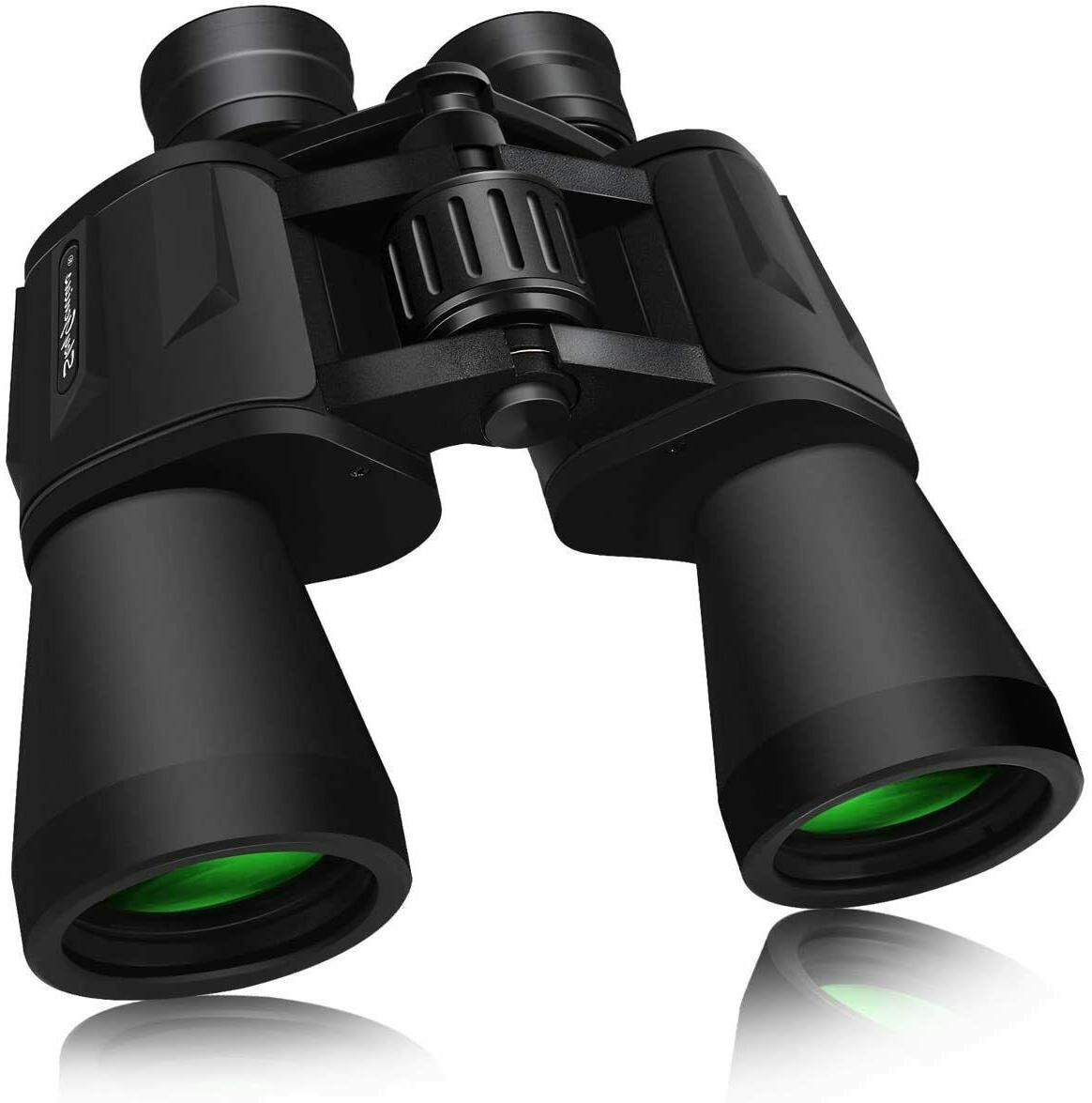SkyGenius 10 x 50 Powerful Binoculars Adults Durable Full-Si