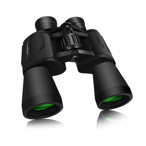 10x50 full size binoculars outdoor camping hunting