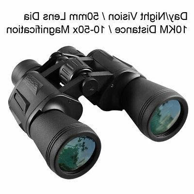 10x50 night vision binoculars 10km wide angle