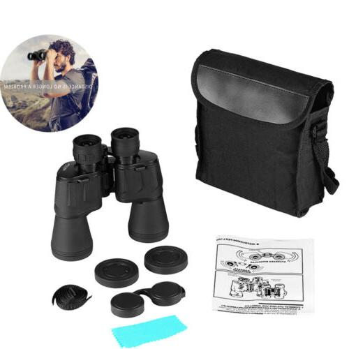10X50 Waterproof Night 10KM Wide Binoculars US