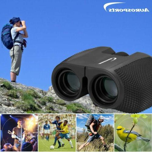 Aurosports 12x25 High Compact Binoculars Telescope for Adults