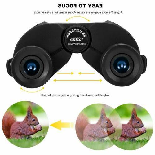 Aurosports Compact Binoculars Telescope Adults Kids
