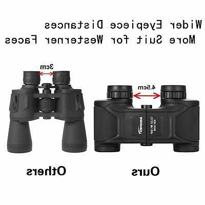 Aurosports 12x25 Wide Angle HD Binoculars Waterproof