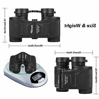 Aurosports 12x25 HD Binoculars High Waterproof Shockproof ...