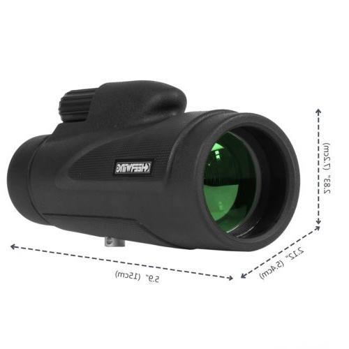 12x50 High Power Prism Monocular Lens+Tripods & Phone Holder