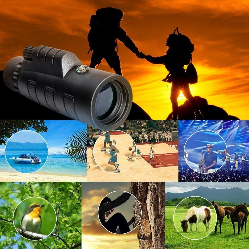 12x50 High Binocular Spotting Dual Focus kit