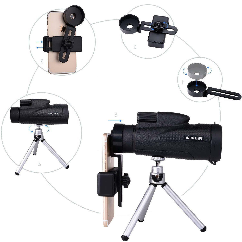 12x50 Power Monocular Binocular Telescope Night