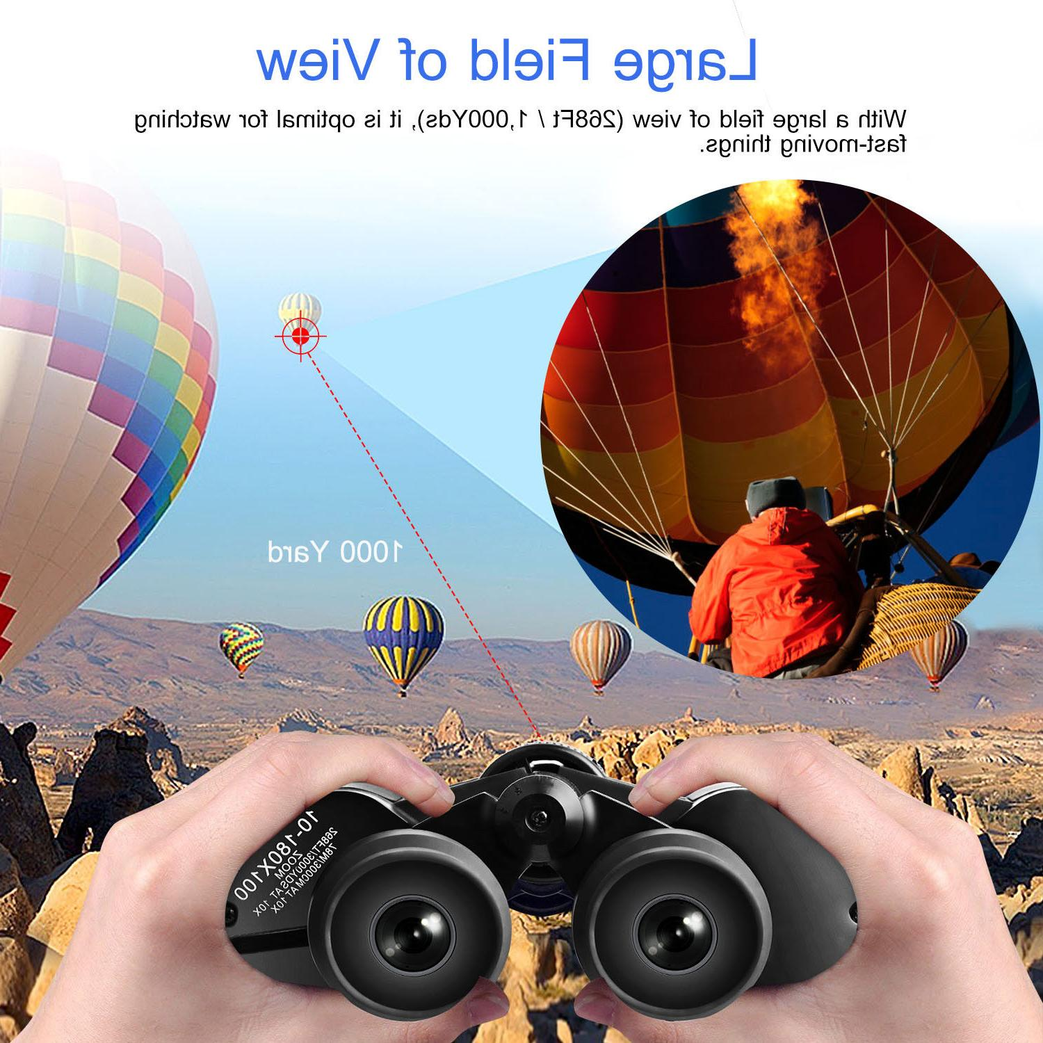 180 Day Vision Outdoor Travel Binoculars