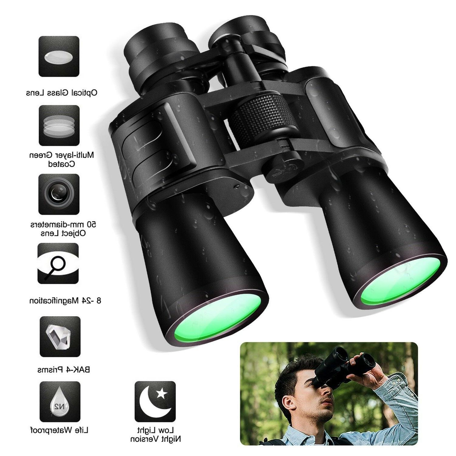 Outdoor 180 x 100 Zoom Day Night Light Vision Binoculars Hun