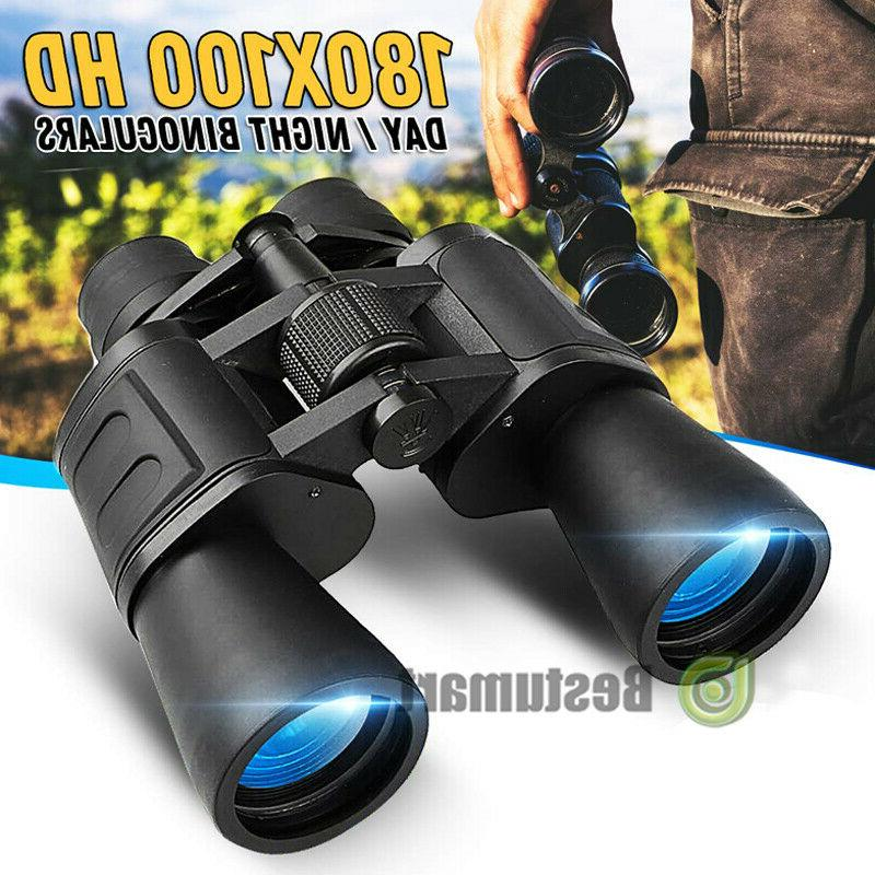 180x100 high power military binoculars day night