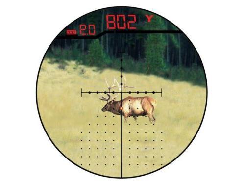 Burris Eliminator III Laser Rangefinding Scope 4-16x50mm