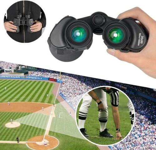 20x50 High Power Binoculars , Portable and Waterproof