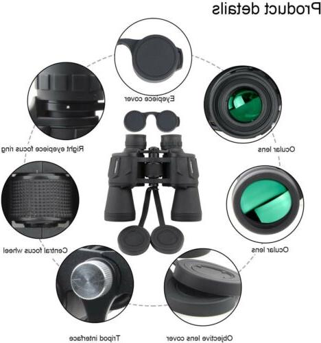 20x50 Binoculars , Portable and