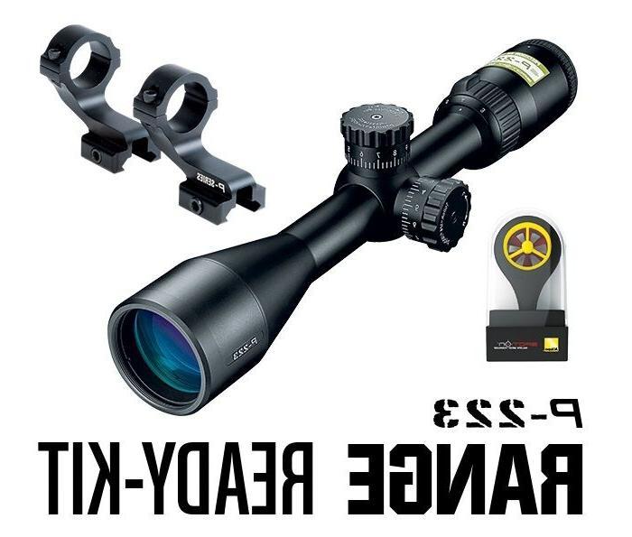 Nikon 16387 P-223 Range Ready Kit 3-9x40mm BDC 600 Reticle M