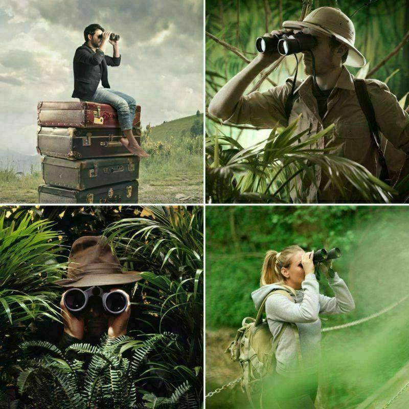 30x50 Day Night Vision Outdoor HD Binoculars USA