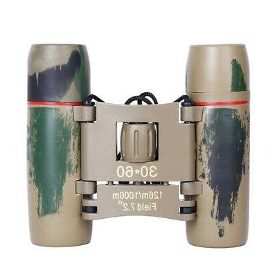 30x60 Portable Small Binoculars for Adult