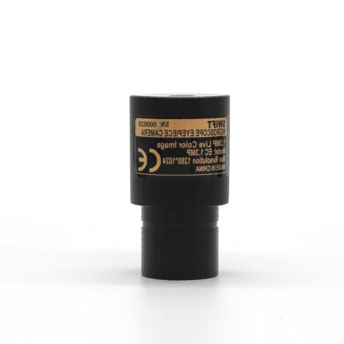 Trinocular Compound Microscope with Camera