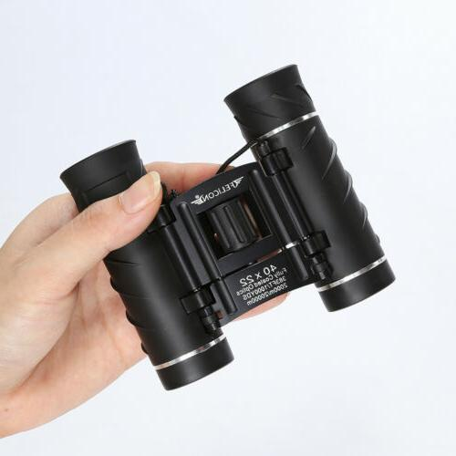 40x22 binoculars telescope portable binocular high power