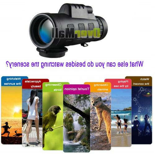 40X60 Binoculars with Night Vision Power Waterproof