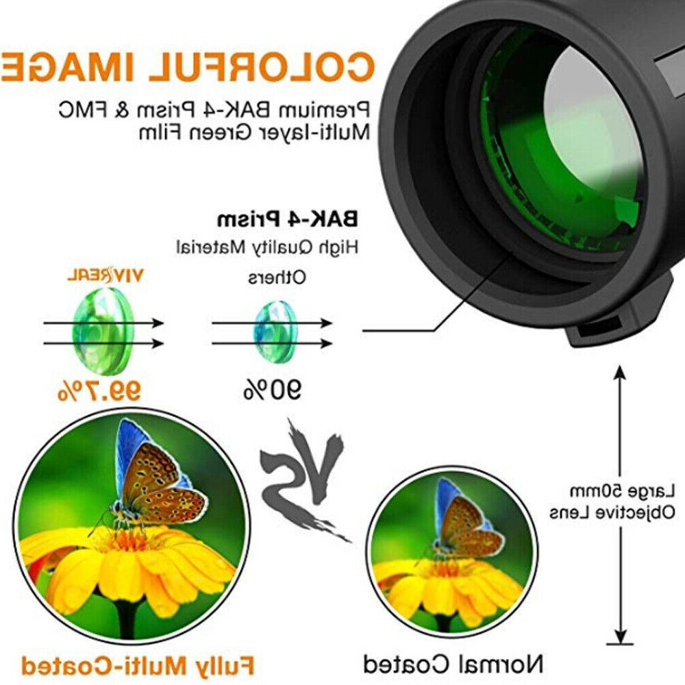 40x60 Zoom Starscope W/ Night Vision Telescope BAK4
