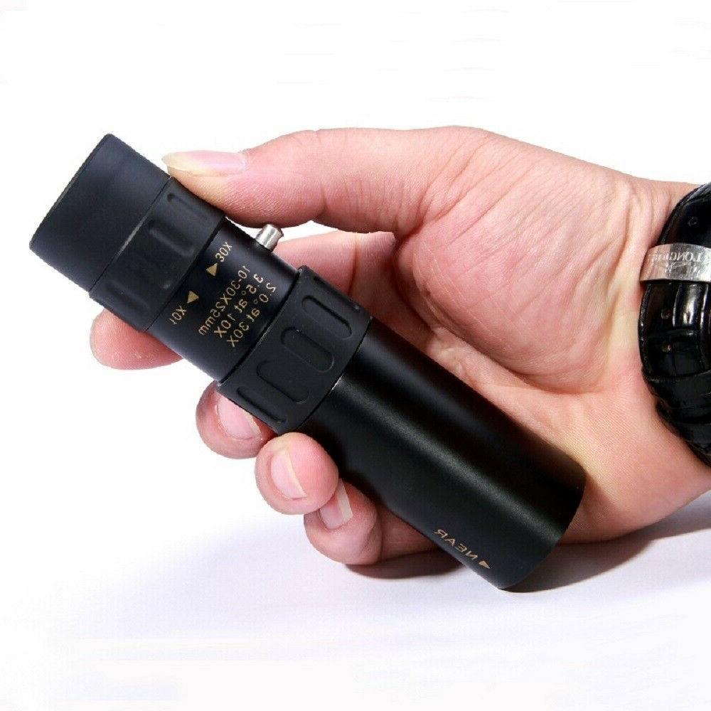 4K Zoom Portable Monocular Tripod