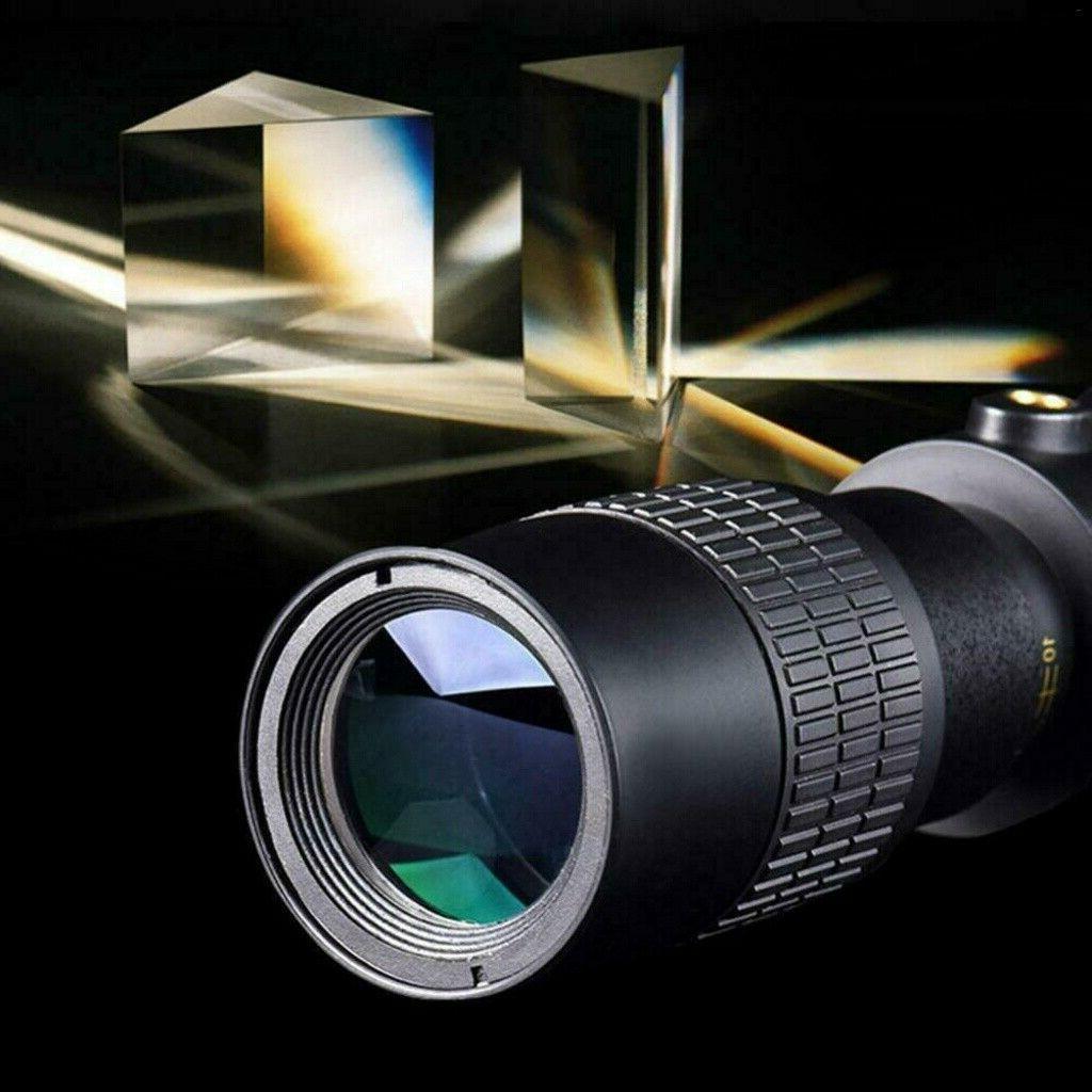 4K 10-300X40mm Zoom Portable Monocular Telescope Tripod