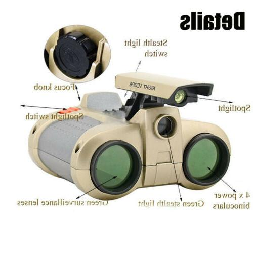 4x Surveillance Telescopes W/ Pop-up Light