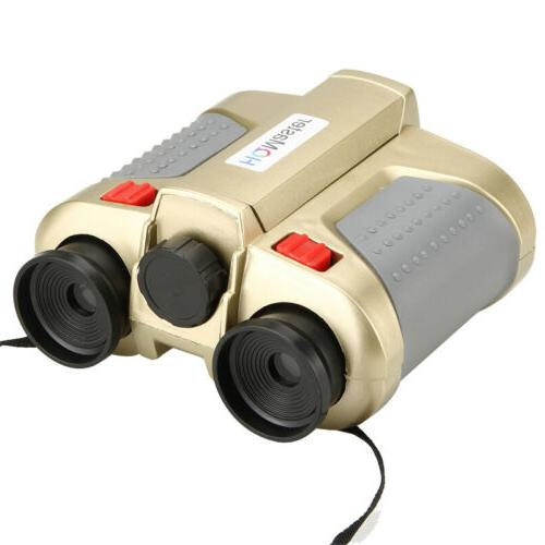 4x Surveillance Scope Binoculars W/ Pop-up