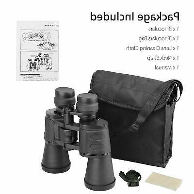180x100 Vision Outdoor Travel Binoculars Hunting Telescope+Case