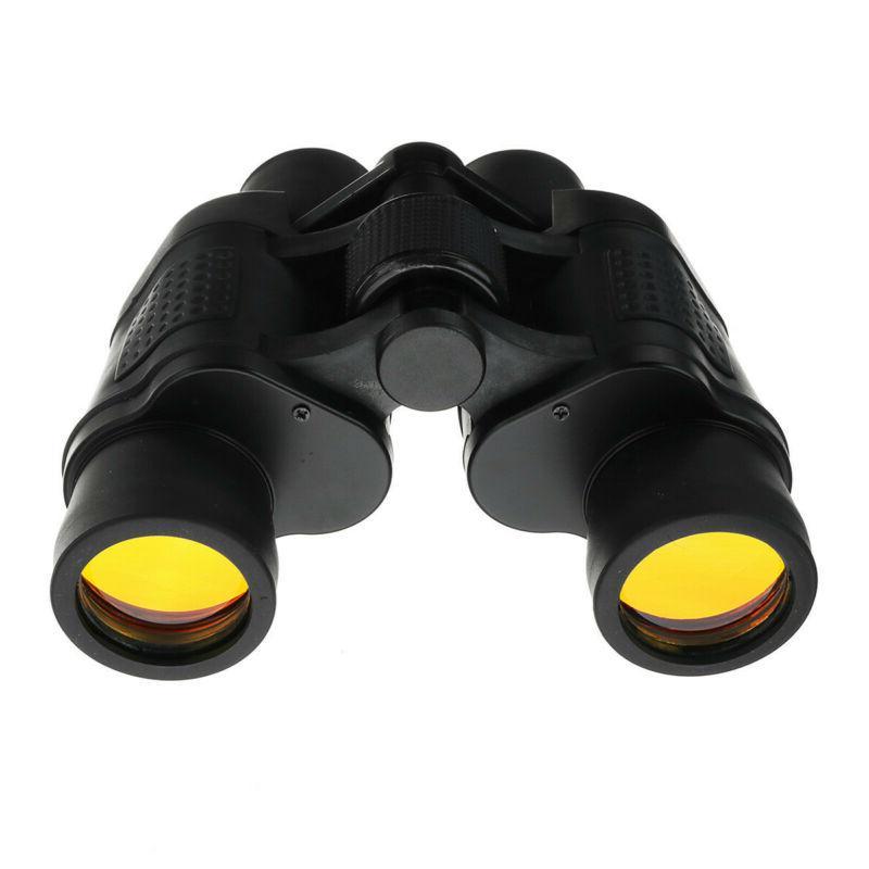60X60 Zoom Day Vision Binoculars Hunting Telescope+Case