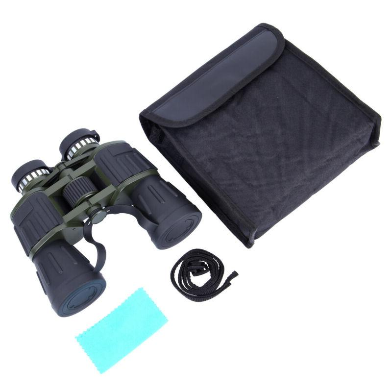 60x50 Day/Night Military Binoculars Hunting Camping BAK4