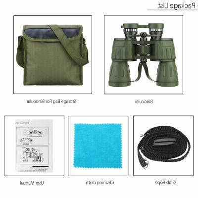 60x50 Zoom Military Army High Power Binoculars Anti Hunting