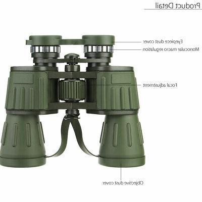 60x50 Zoom Military Army High Power Anti UV Hunting Telescope