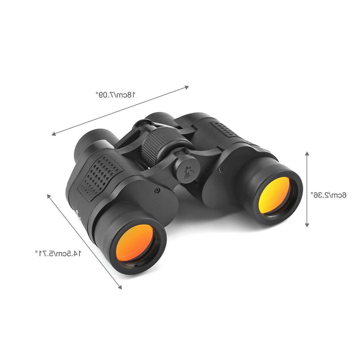 Day&Night Binoculars Outdoor Travel 60X60
