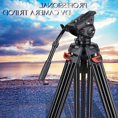 Professional 72 Aluminum Portable Video DV Camera Tripod Sta