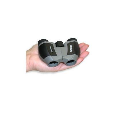 Carson 7x18 Mini Scout Porro Prism Binocular, Degree Angle Silver